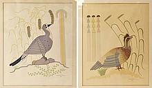PAIR of Gerald Nailor Silk Screen Prints c. 1950's