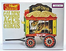 MIB Steiff Golden Age of the Circus Tiger