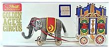 MIB 5 Pc. Steiff Golden Age of the Circus Train