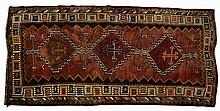 Vintage Persian Wool Rug, Approx. 117