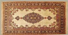 Hand Made Persian Silk on Silk Rug