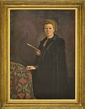 Portrait Painting of a Woman by Edmond Fitzgerald