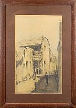 Early Harrison San Francisco Sketch