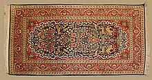 Hand Made Persian Silk on Wool Rug