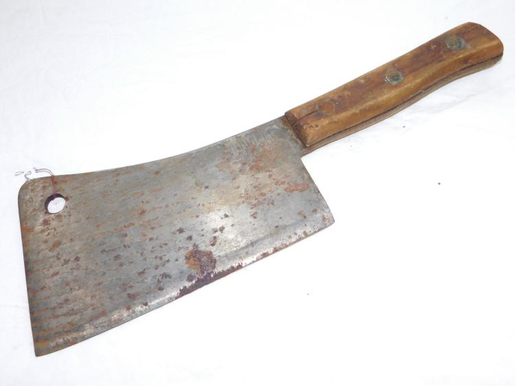 Antique Riddell Meat Cleaver