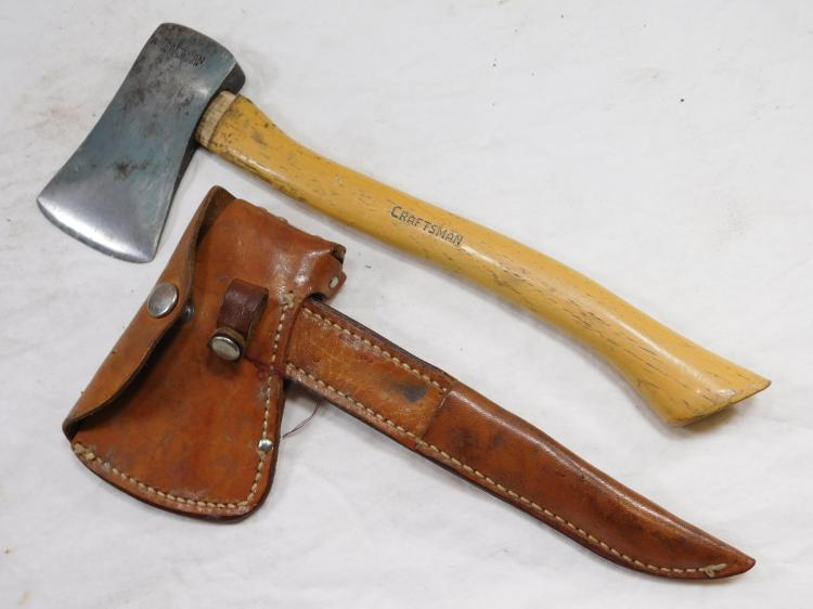 Antique Craftsman Hatchet