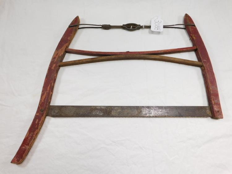Antique Buck Bow Crosscut Saw