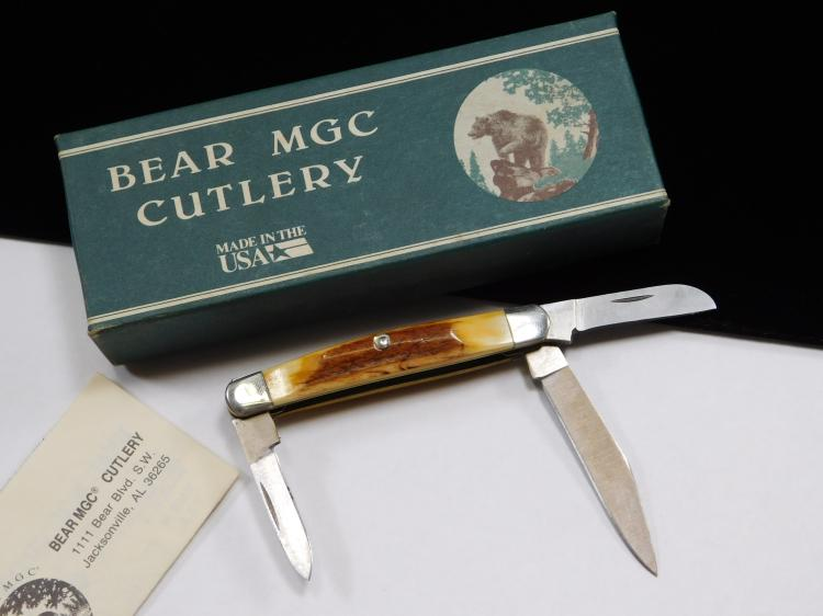 Bear Mgc Cutlery 3 Blade Folding Pocket Knife