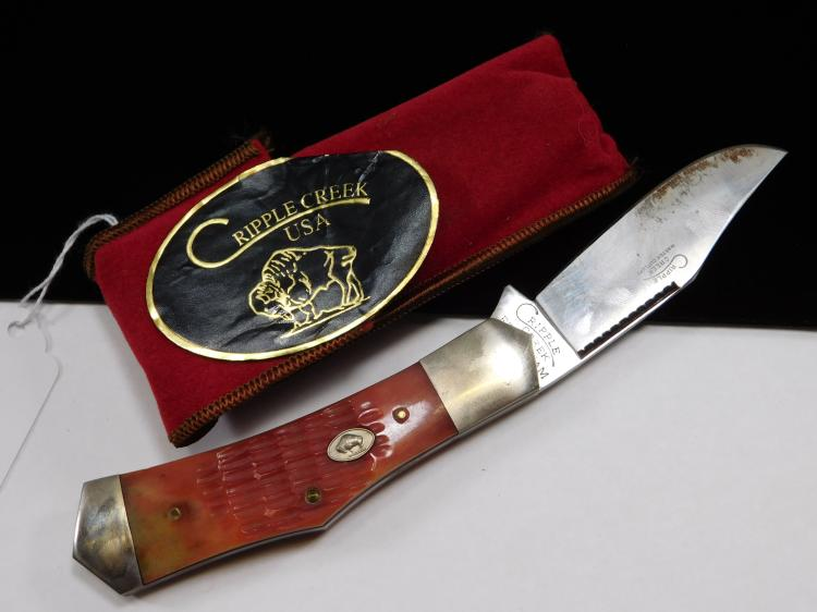 Cripple Creek Single Blade Folding Knife