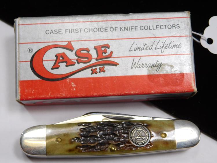 Case NKCA Club 1987 1 Of 7000 Three Bladed Folding Knife