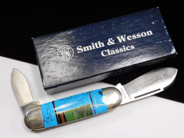 Smith & Wesson Two Bladed Folding Knife