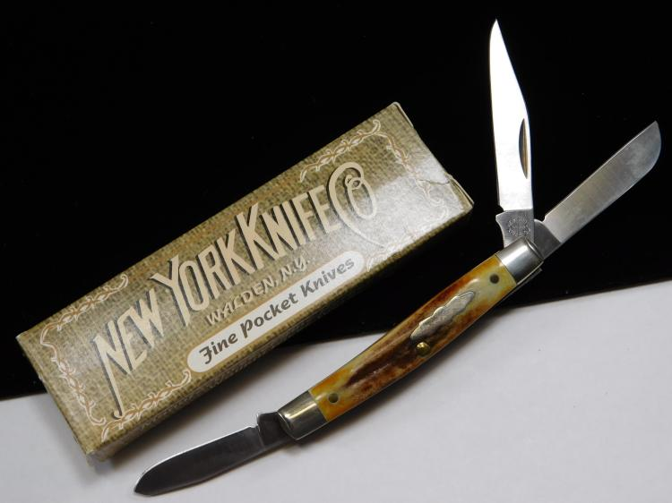 New York Knife Company Three Bladed Folding Knife