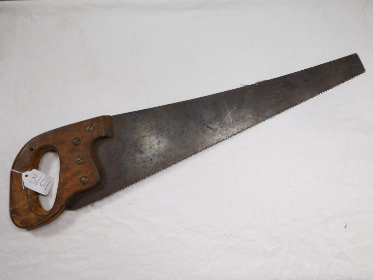 Henry Disston & Sons Antique Hand Saw