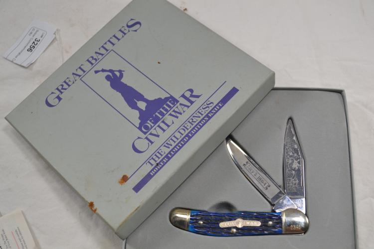 Boker Commemorative Civil War 2 Blade Folding Pocket Knife