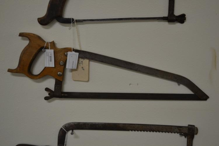 Antique EC Atkins And Company Number 1 Hand Saw