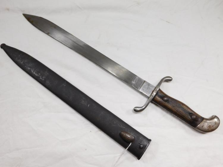 Weyersberg Kirschbaum & Company Solingen Bolo Fighting Knife With Matching Sheath