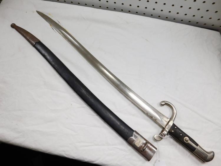 Gebr Weyersberg Solingen Bayonet In Scabbard