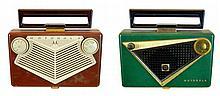 Vintage Motorola Transistor Radio PAIR