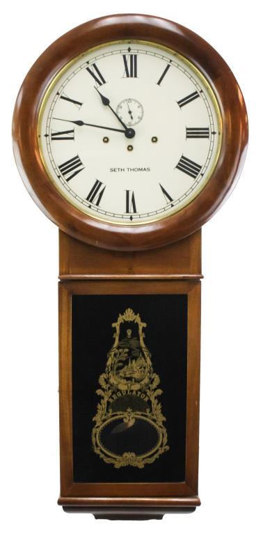 "Seth Thomas ""Regulator"" Wall Clock"