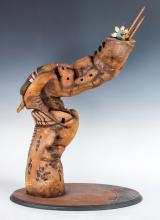 Buddy Tubinaghtewa Hopi Ahola Sculpture