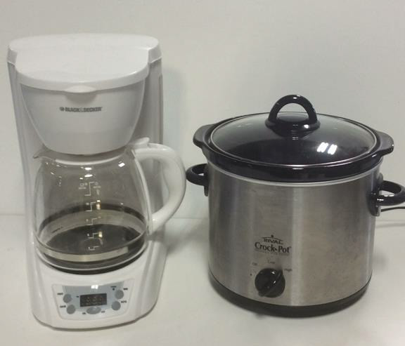 Rival Coffee Maker How To Use : Rival Croc-Pot w/ Black & Decker Coffee Maker