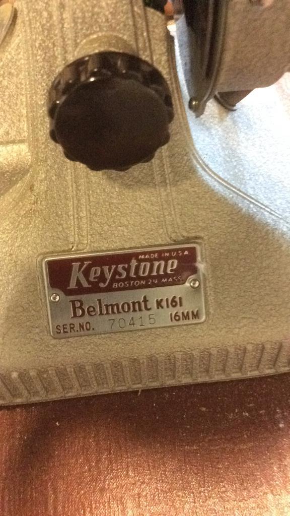 Keystone Belmont K161 Manual