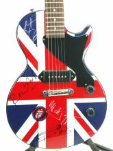 Rolling Stones Autographed Electric Guitar