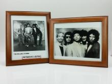 2pc. Rolling Stones Photo Lot