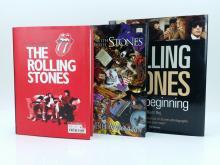 3pc. Rolling Stones Photo Books