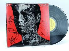 Autographed Rolling Stones Tattoo You Record