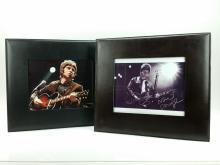 2pc. Noel Gallagher Photo Lot