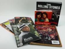 Rolling Stones Magazine & Book Lot