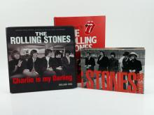 3pc. Rolling Stones Collector Books