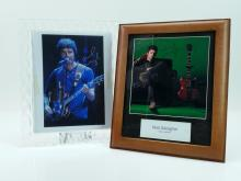 2pc. Printed Noel Gallagher Photo Lot