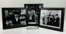 5pc. Rolling Stones Photo & Ticket Lot