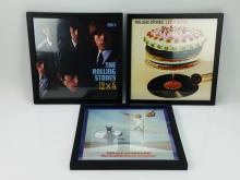 Rolling Stones Framed Album Covers