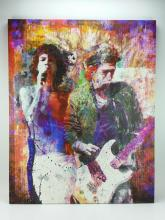 The Rolling Stones Artistic Print