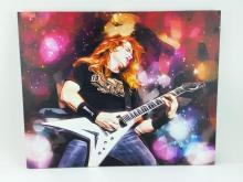 Scott Wallace Dave Mustaine Artistic Print