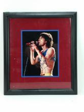 Autographed Mick Jagger Photo