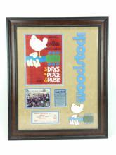 Commemorative Woodstock Ticket