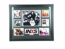 Framed INXS Photo