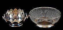 Gorham, Reed & Barton Silver Plate Bowl PAIR
