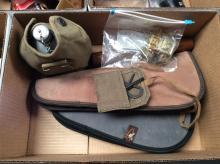 Mosin-Nagant Cleaning Tool and Gun Case Box Lot