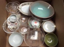 Assorted Glassware Box Lot