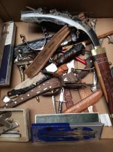 Assorted Knife & Letter Opener Lot