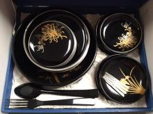 Lacquer Ware Dinner Set