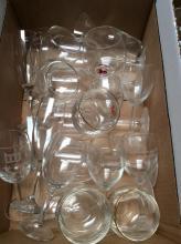 Miscellaneous Glassware Box Lot #1