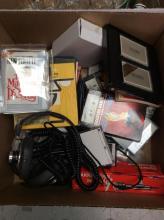 Vintage Audio, Cassette Tapes & Book Lot
