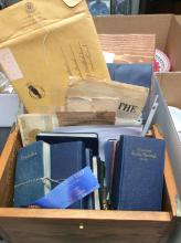 Shaw Family  Ephemera & War Journals