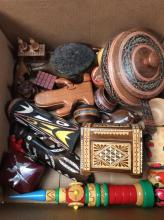 Wooden Collectable Box Lot